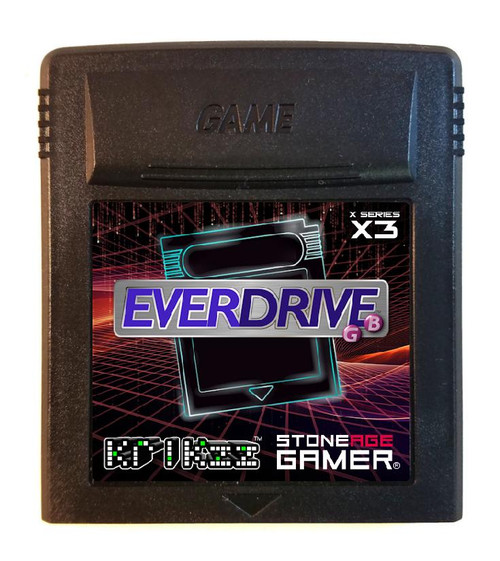 EverDrive-GB X3 (Pitch Black)
