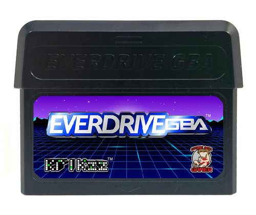 EverDrive-GBA X5 (Pitch Black)