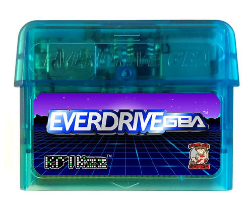 EverDrive-GBA X5 (Glacial Blue)