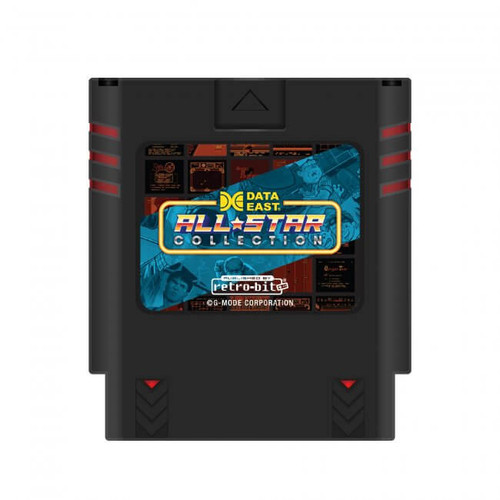 Data East All Star Collection Multi-Cart for NES