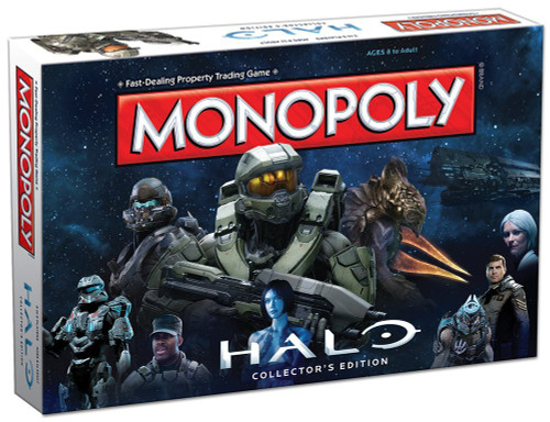 HALO collector's edition Monopoly