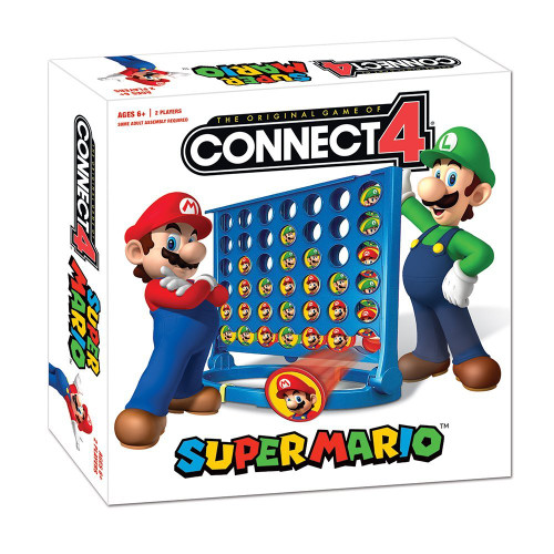 Super Mario Connect4