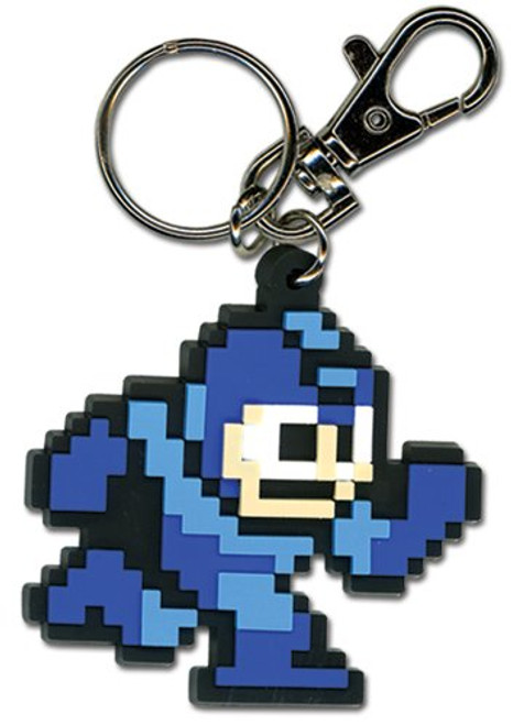 Megaman 10 Running PVC Keychain