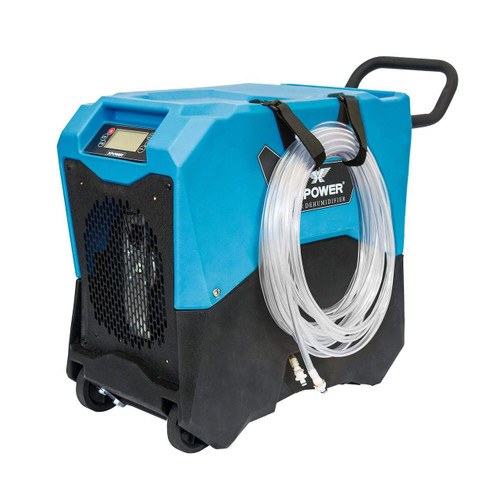 XPOWER XD-75LH Commercial LGR Dehumidifier w/ Handle & Wheels