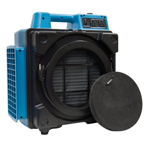 XPOWER X-2480A Professional 3-Stage HEPA Mini Air Scrubber