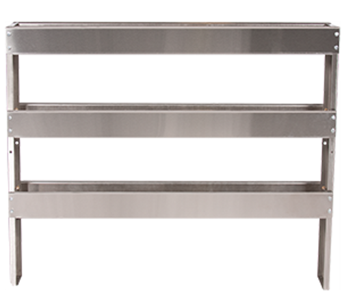 Stainless Steel Three Tier Chemical Rack