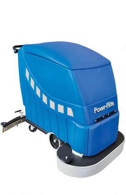 "Predator 28"" self-propelled automatic scrubber with batteries and charger"