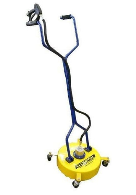 """Chappell Surface Cleaner with Castors - 4000 psi, 18"""" head, 8 pgm"""