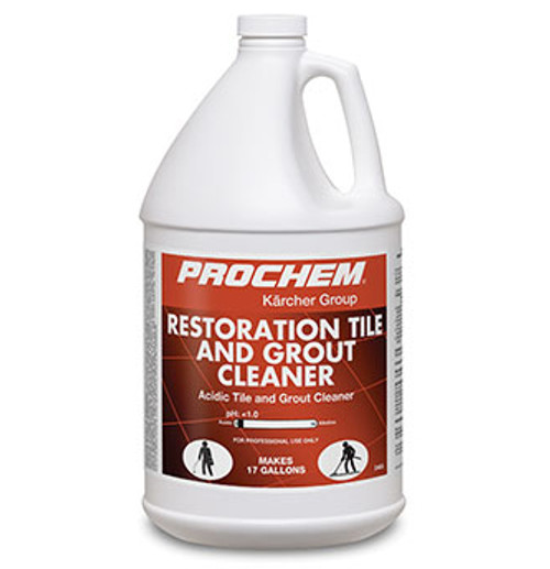 Prochem Restoration Acid Tile and Grout Cleaner  - pH <1  D405