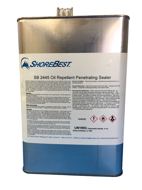 ShoreBest 2445 Penetrating Solvent Sealer - RTU Gallon