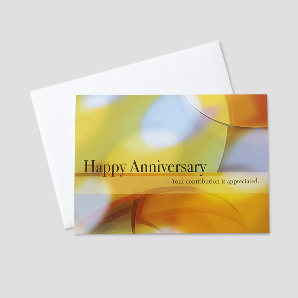 Custom Company Anniversary Greeting Cards | CEO Cards