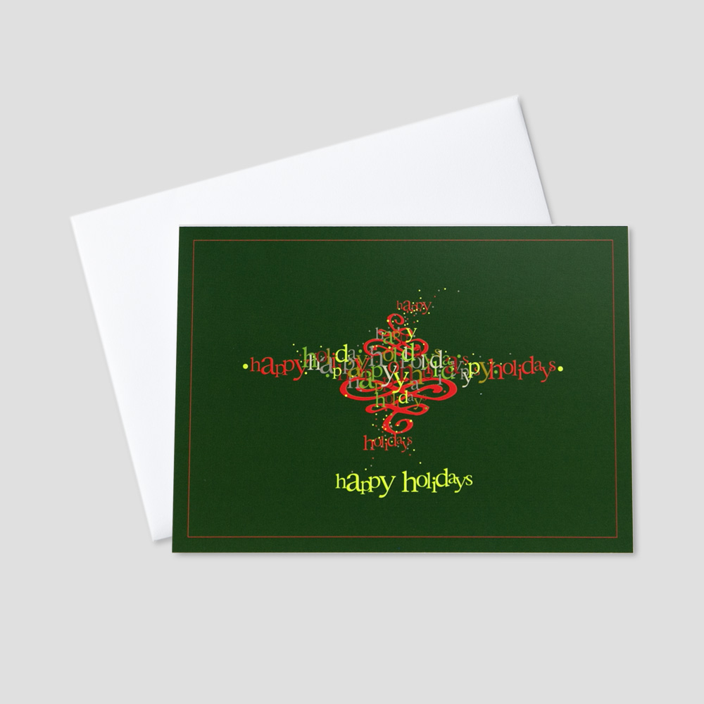 Customizable Holiday Greeting Cards Ceo Cards