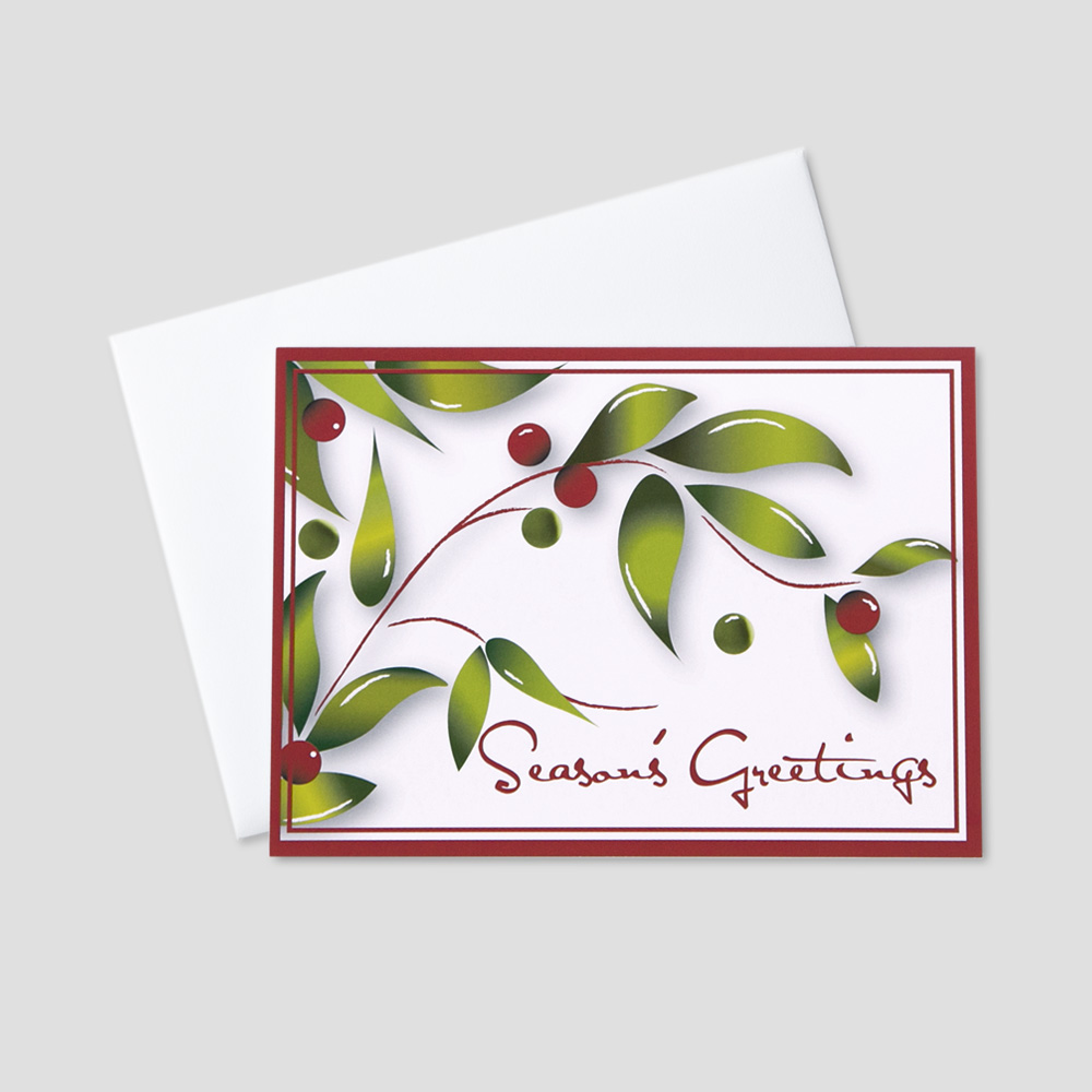 Professional Seasons Greetings Greeting Cards Ceo Cards