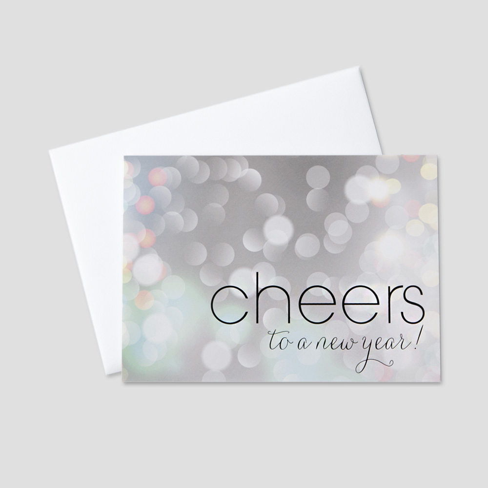 Client New Year Greeting Cards | CEO Cards