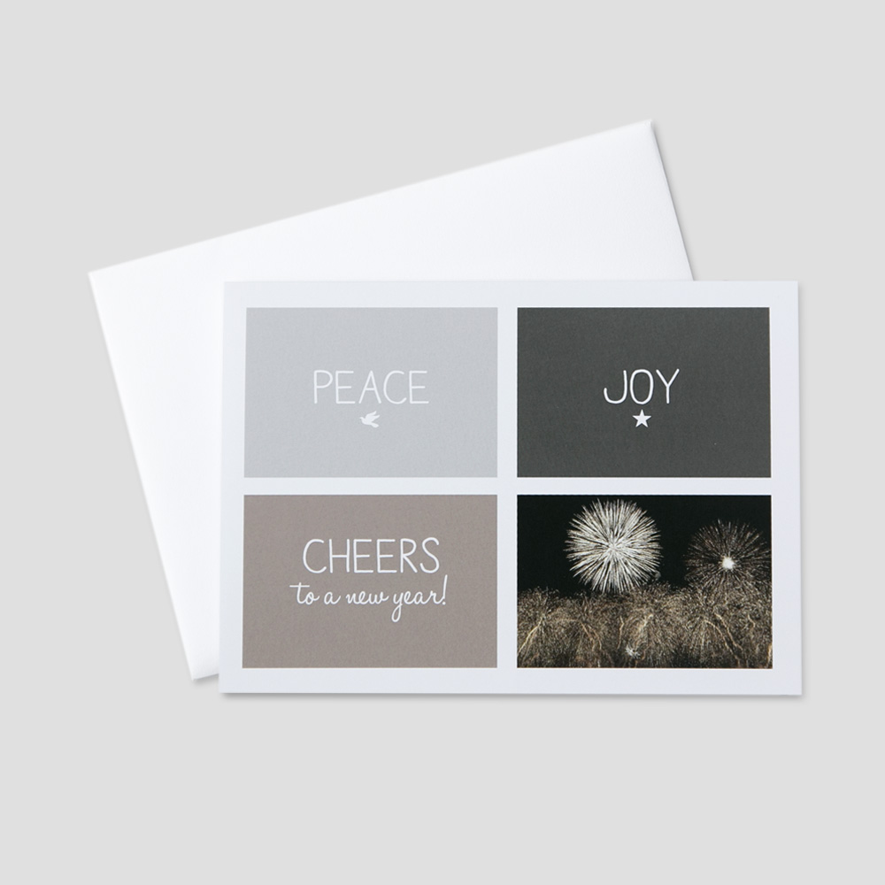 Corporate New Year Greeting Cards Ceo Cards