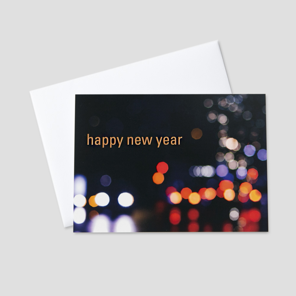 Company New Year Greeting Cards | CEO Cards