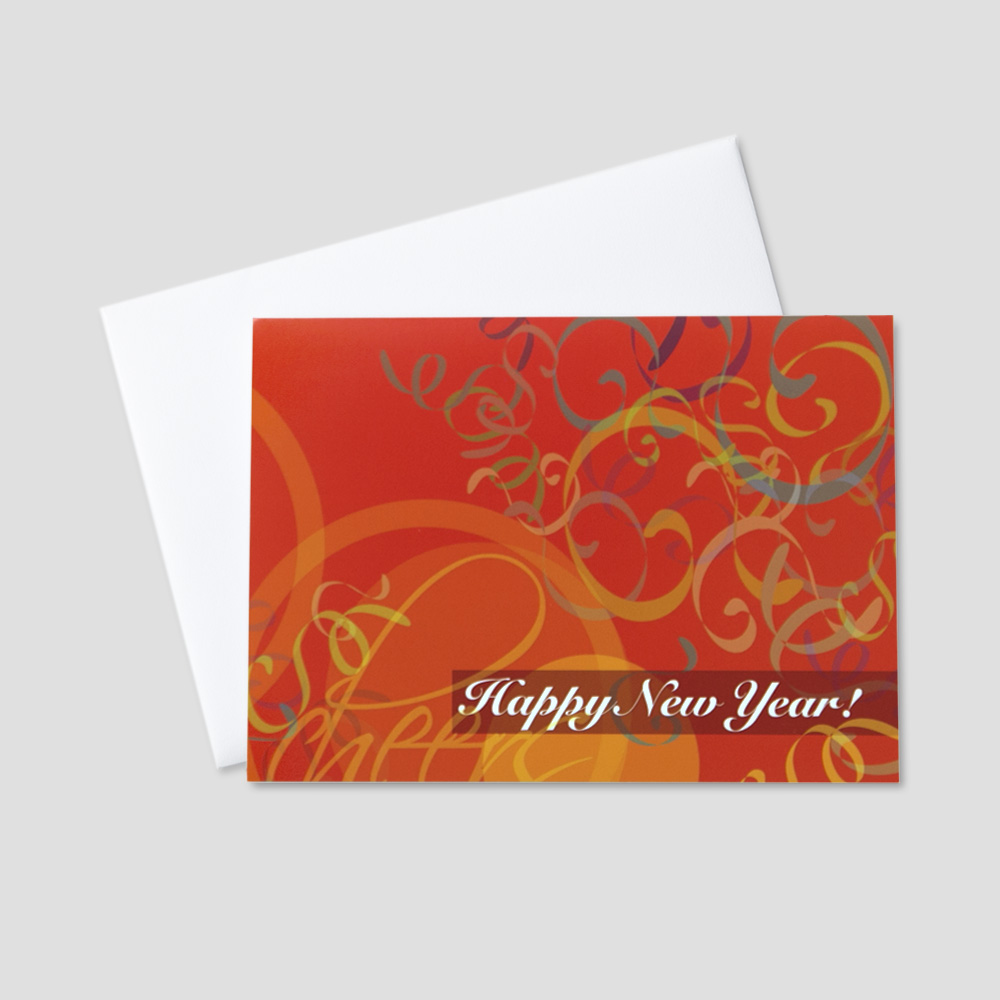 Festive New Year Greeting Cards | CEO Cards