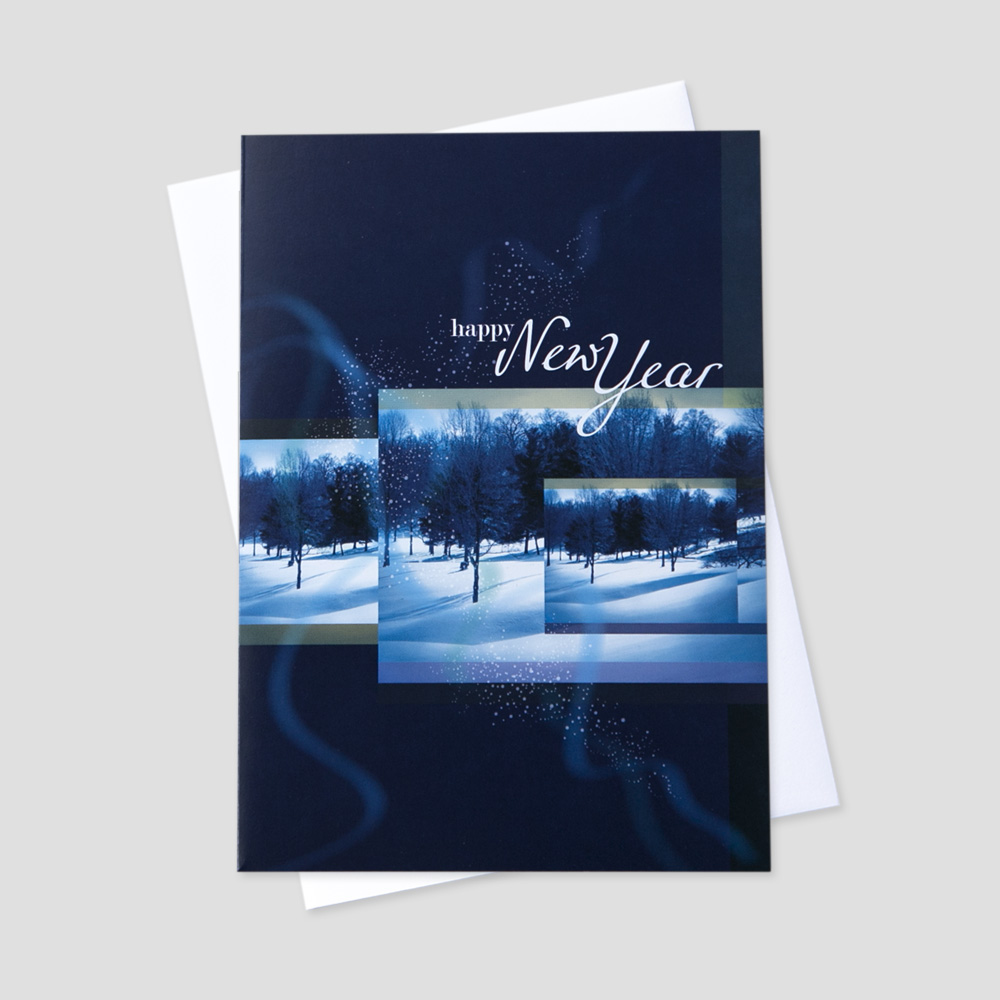 Business New Year Greeting Cards Ceo Cards