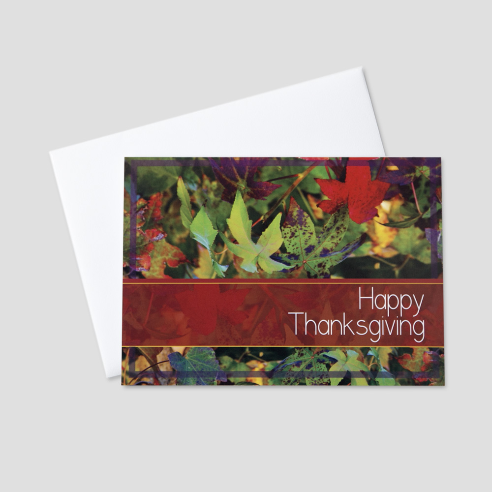 customer thanksgiving greeting card ceo cards