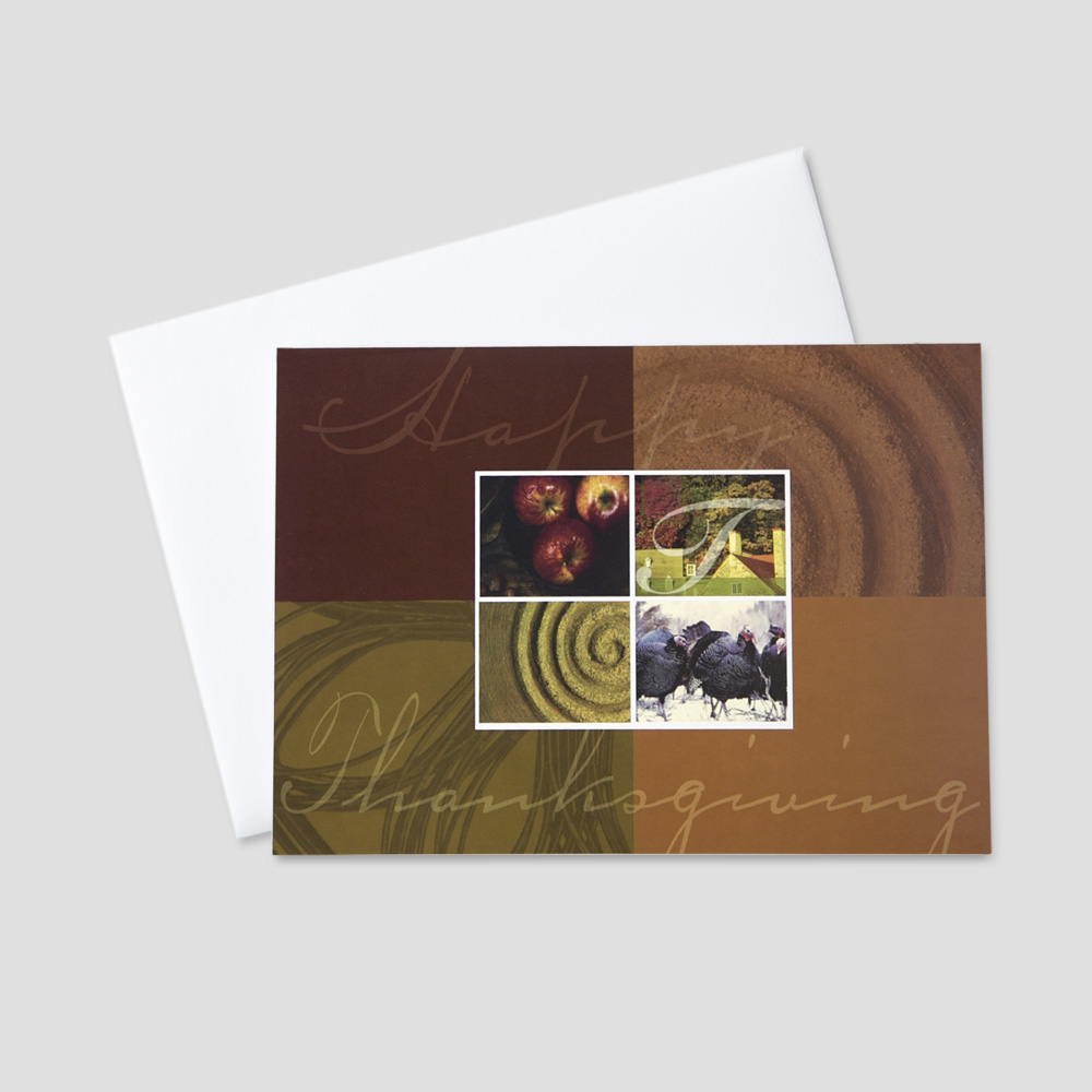 Employee Thanksgiving Greeting Cards Ceo Cards