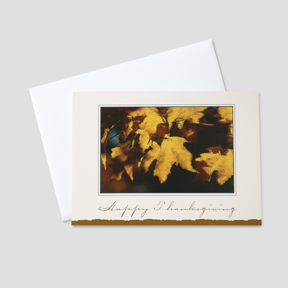Client Thanksgiving Greeting Cards | CEO Cards