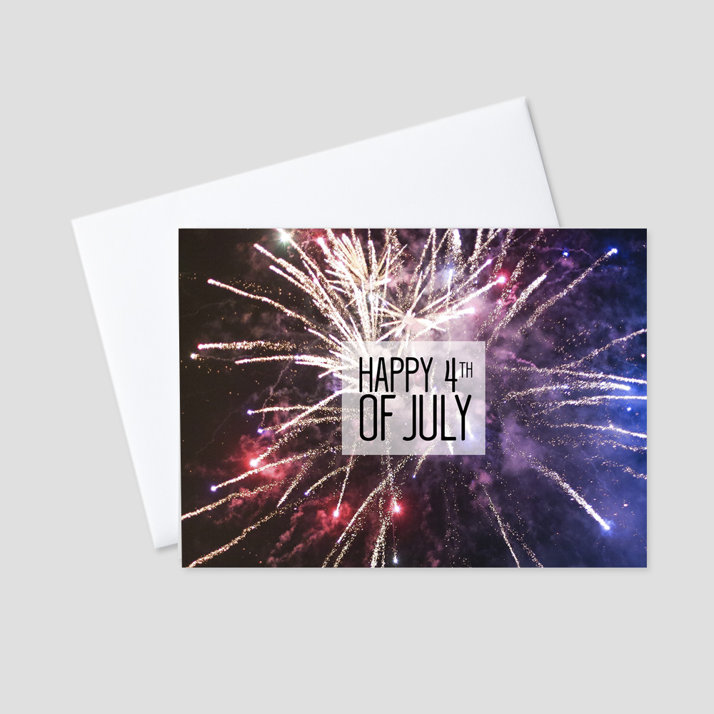 New Business July Fourth Greeting Cards Ceo Cards