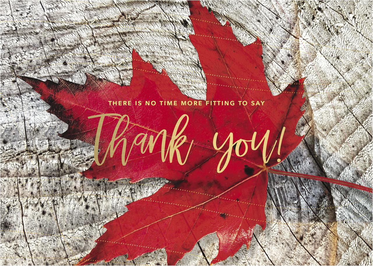 TH1802 - Maple Leaf Greeting