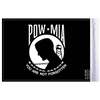 "6""x9"" Highway flag:  POW-MIA (BACK)"