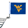"""Shown on 1/2"""" Football flag mount. (Mount sold separately.)"""