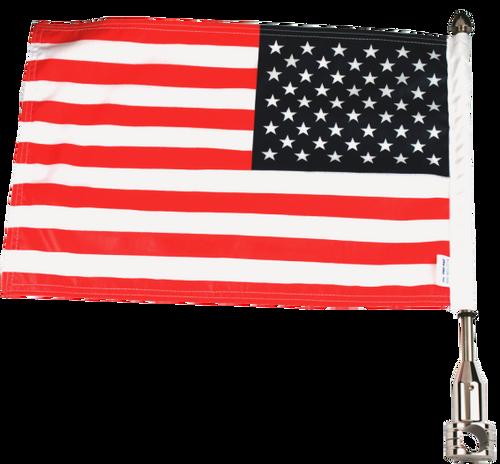 """#RFM-FXD215-SP (13"""" pole and 10""""x15"""" flag)"""