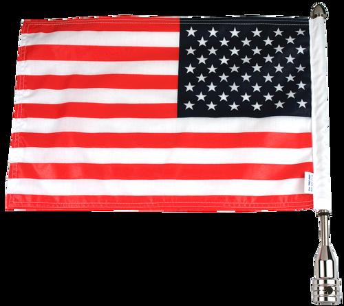 """#RFM-FXD415 with 10""""x15"""" USA Parade Flag"""