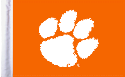 "Clemson Tigers 6""x9"" Motorcycle Flag"