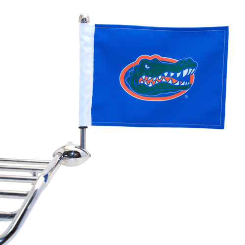 "Shown on 1/2"" Football Flag Mount. (Flag Mount sold separately.)"