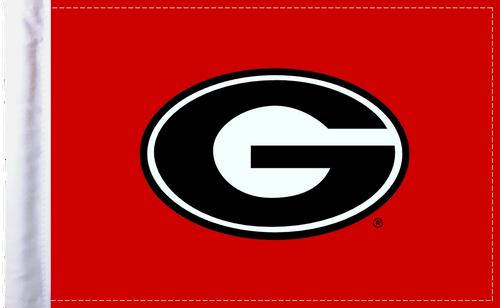 Georgia Bulldogs Motorcycle Flag