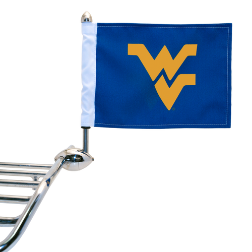 "Shown on 1/2"" Football flag mount. (Mount sold separately.)"