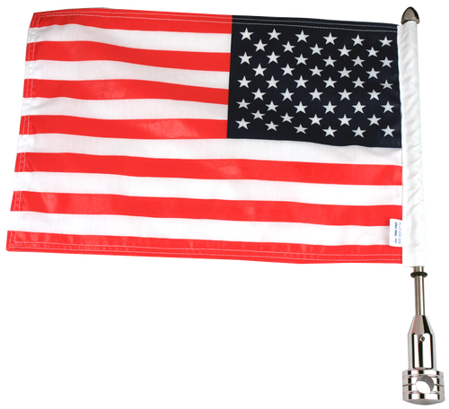 "#RFM-FXD515 with 10""x15"" parade flag"