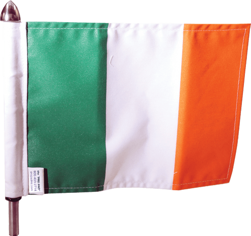 "6"" x 9"" Flag on 9"" Pole; #POLE-9-IRISH $18.95"