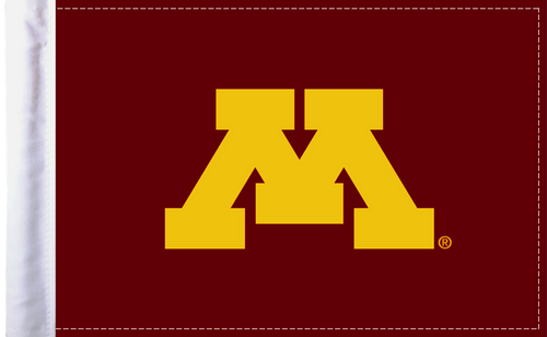 "Minnesota Gophers 6""x9"" Motorcycle Flag"