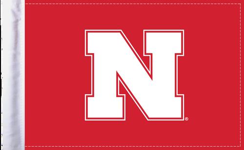"Nebraska Cornhuskers 6""x9"" Motorcycle Flag"