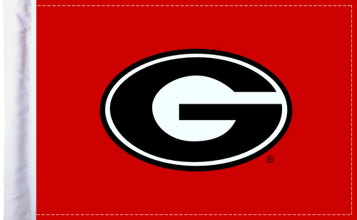 "Georgia Bulldogs 6""x9"" Motorcycle Flag"