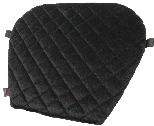 Large Fabric Gel Pro Motorcycle Seat Pad For Harley-Davidson / Honda / Indian / Yamaha / Kawasaki / Victory by Pro Pad