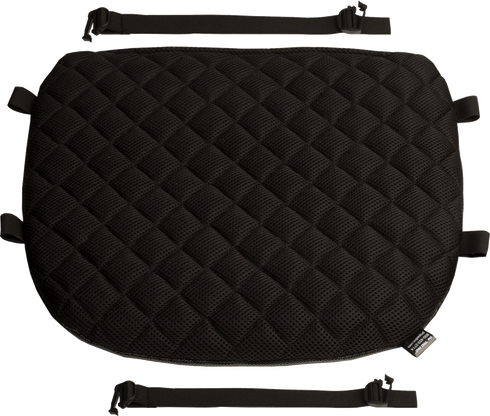 Touring Quilted Diamond Mesh Gel Motorcycle Seat Pad For Harley-Davidson / Honda / Suzuki by Pro Pad