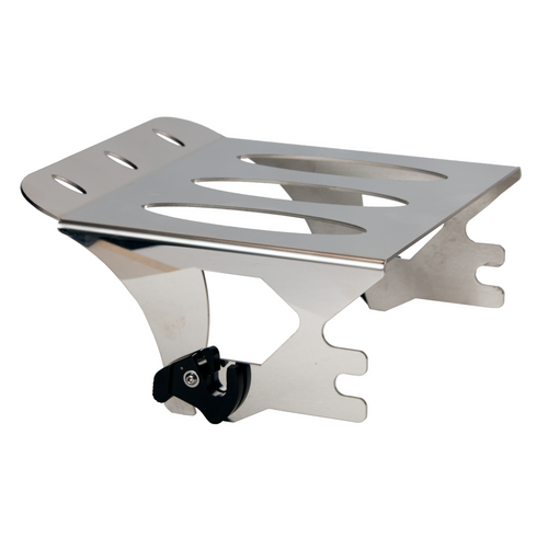 Ellipse 1997-2008 Quick Detachable Rack in Polished Stainless For Harley-Davidson Motorcycles / Made In USA by Pro Pad