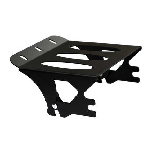 Ellipse 1997-2008 Quick Detachable Rack in Black For Harley-Davidson Motorcycles / Made In USA by Pro Pad