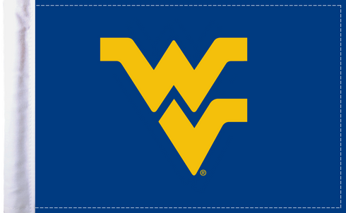 West Virginia Mountaineers 6x9 Motorcycle Flag / Made In USA by Pro Pad