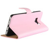 Samsung Galaxy S8 Leather Wallet Cover Case Pink