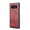 Samsung Galaxy Note 8 Leather 2-in-1 Combo Case+Wallet Red