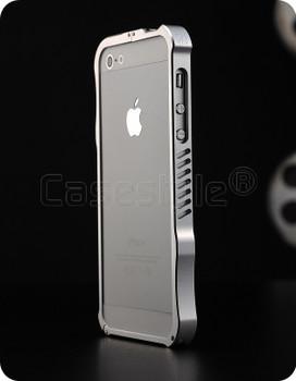 iPhone 5S 5 iMatch Aluminum Bumper Case Silver