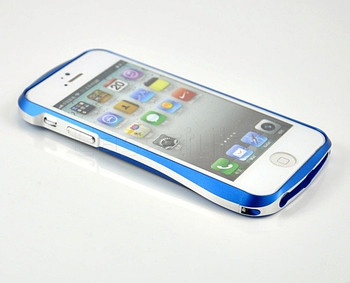 Deff Cleave iPhone 5S 5 Aluminum Bumper Blue