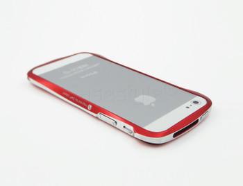 Deff Cleave iPhone 5S 5 Aluminum Bumper Red